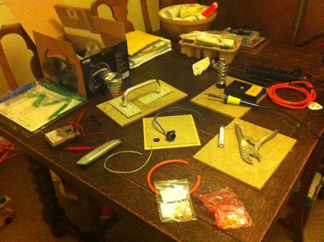 Starting to solder